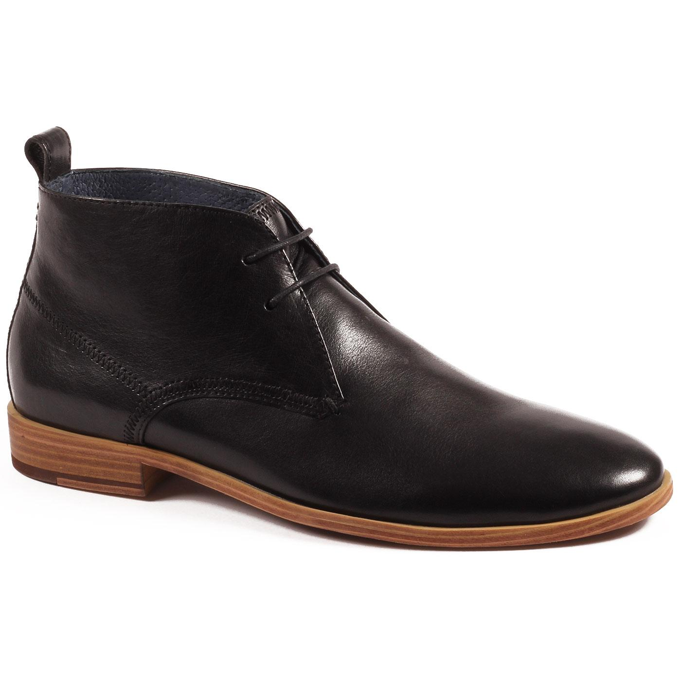 Player PAOLO VANDINI Mod Leather Chukka Boots (B)