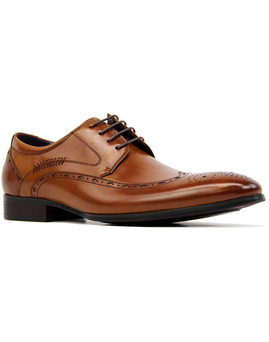 Shane PAOLO VANDINI Retro Mod Wingtip Brogues T