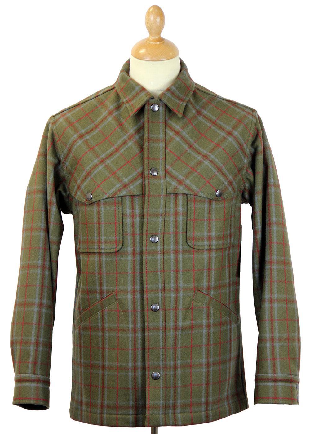 PENDLETON Retro Western Wool Plaid Thicket Jacket