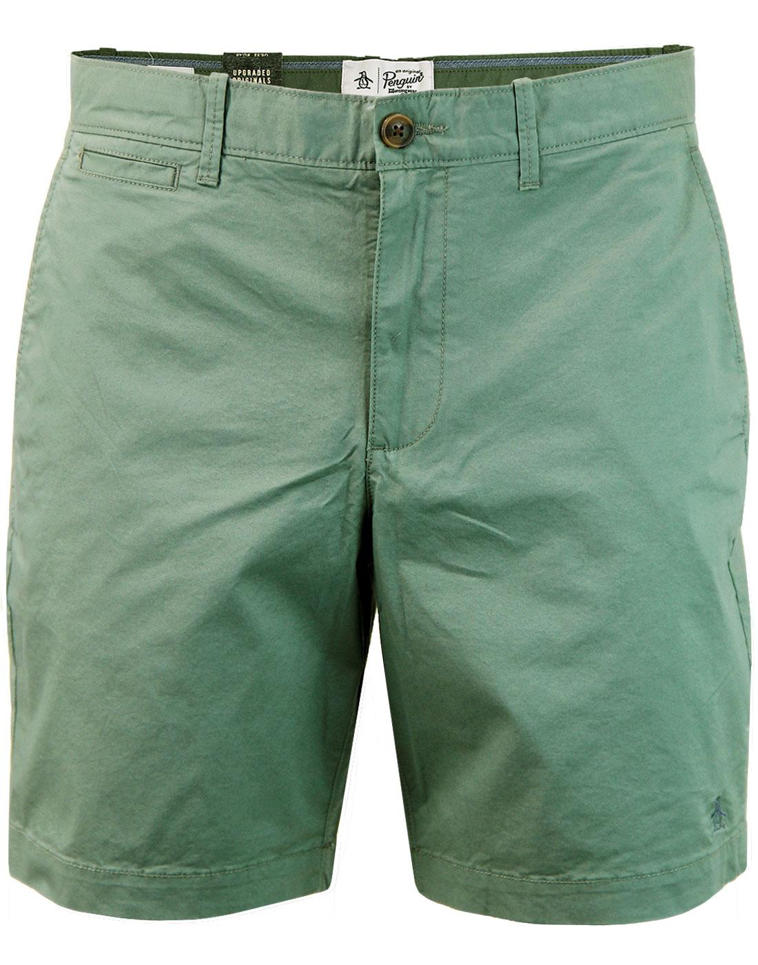 ORIGINAL PENGUIN P55 Retro Slim Chino Shorts DE