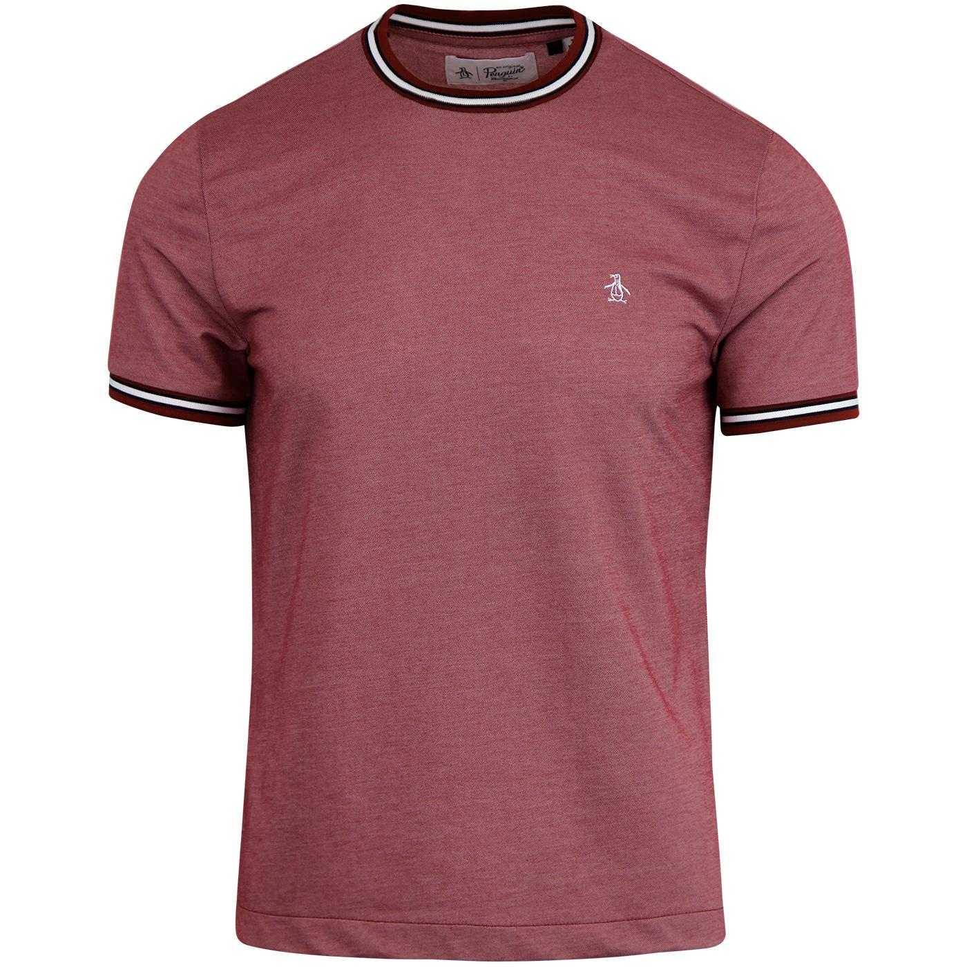ORIGINAL PENGUIN Retro Mercerised Pique T-Shirt