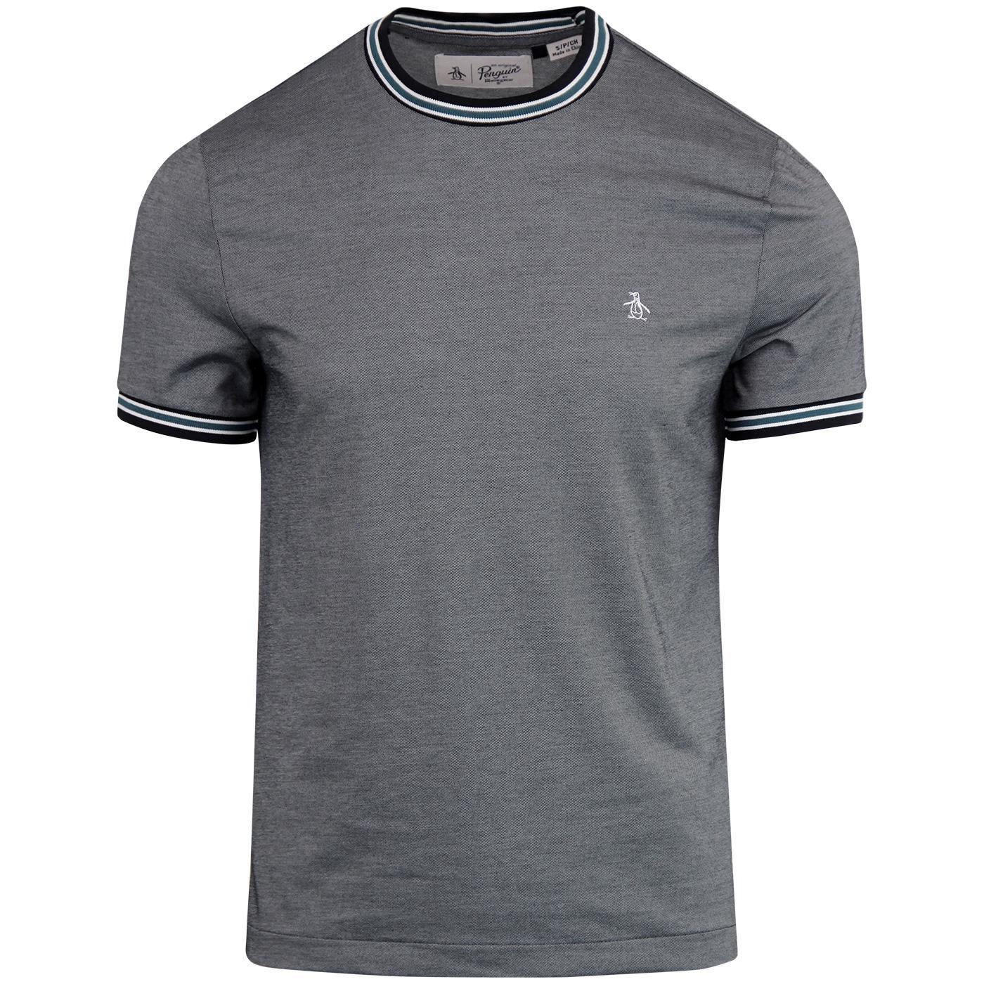 ORIGINAL PENGUIN Retro Mercerised Pique T-Shirt DS