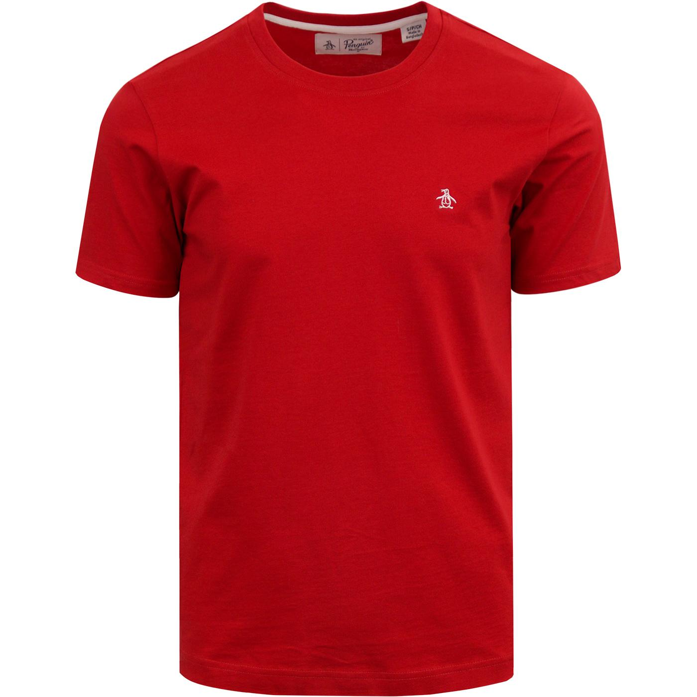 ORIGINAL PENGUIN Basic Pin Point Logo Crew Tee SS