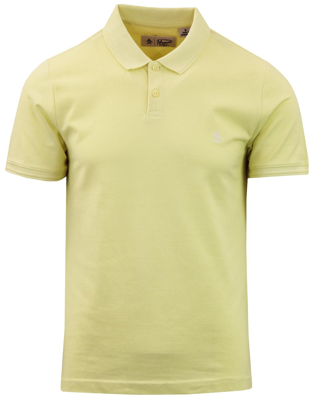 ORIGINAL PENGUIN Mod Raised Rib Pique Polo Top (Y)