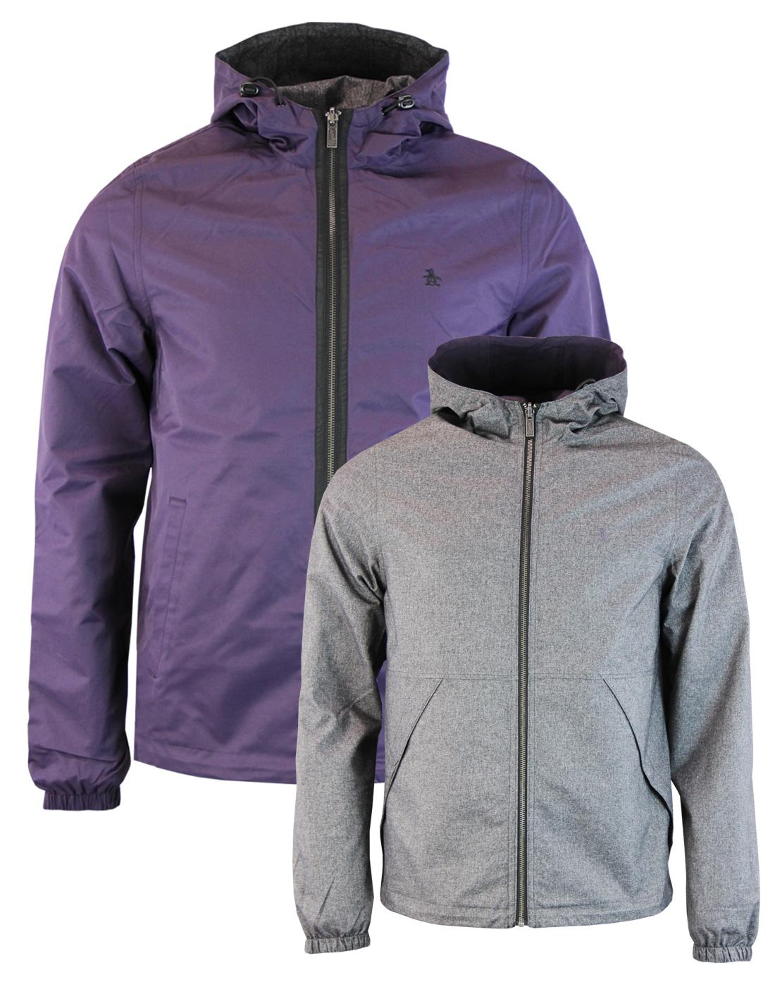 ORIGINAL PENGUIN Reversible Hooded Ratner Jacket