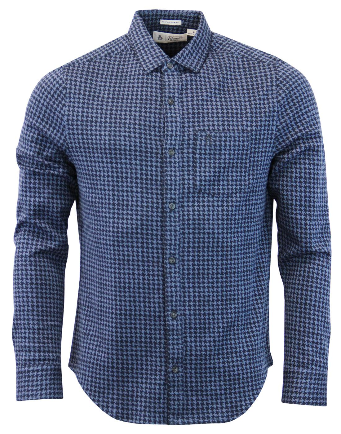 ORIGINAL PENGUIN Retro Mod Dogtooth Check Shirt