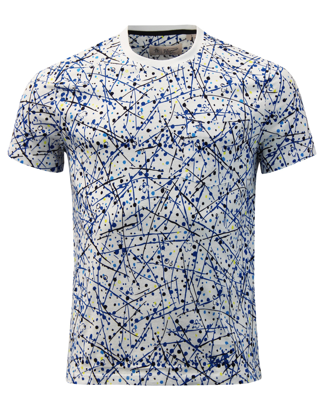 ORIGINAL PENGUIN Retro Paint Splatter Print Tee