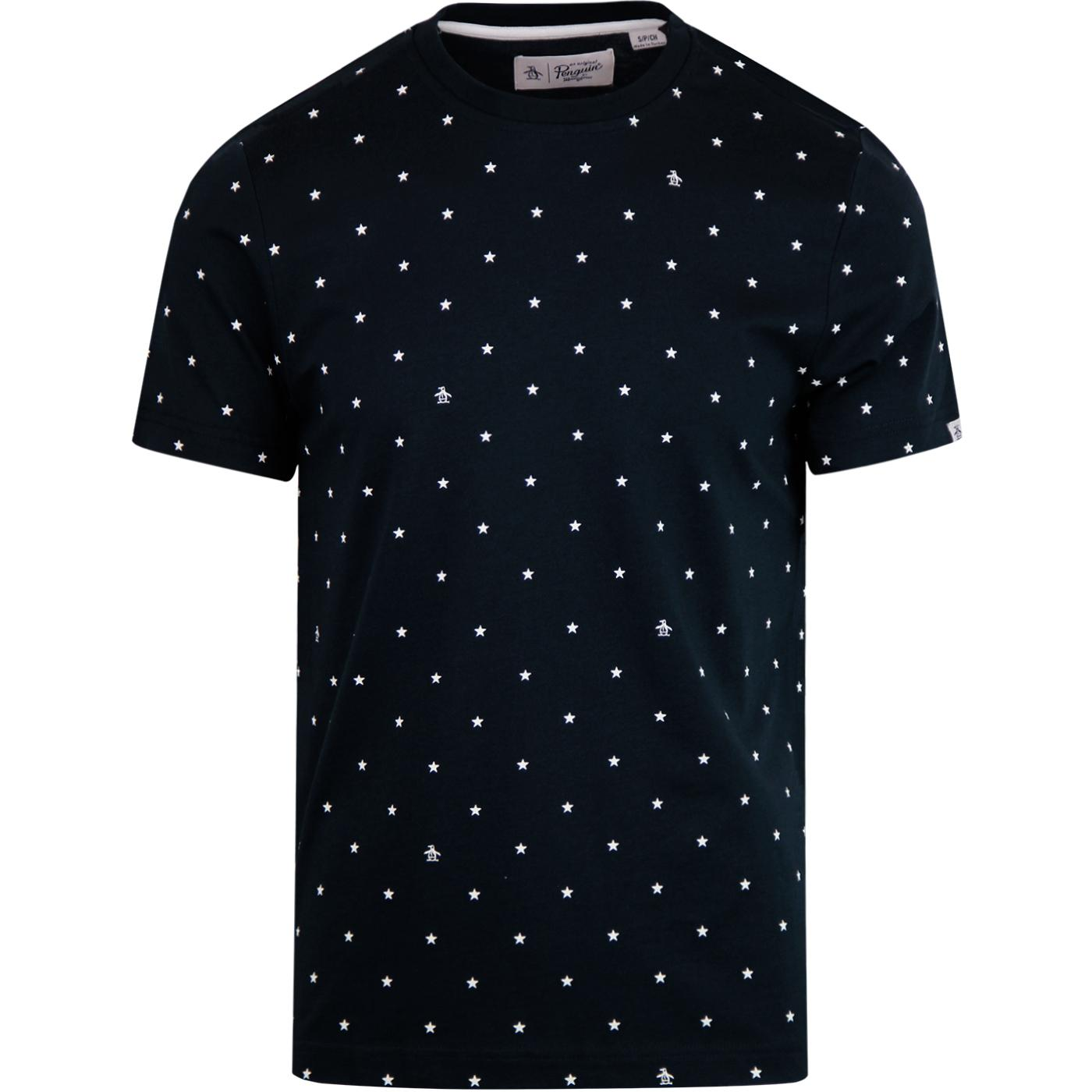 ORIGINAL PENGUIN Retro Stars Crew Neck Tee (DS)