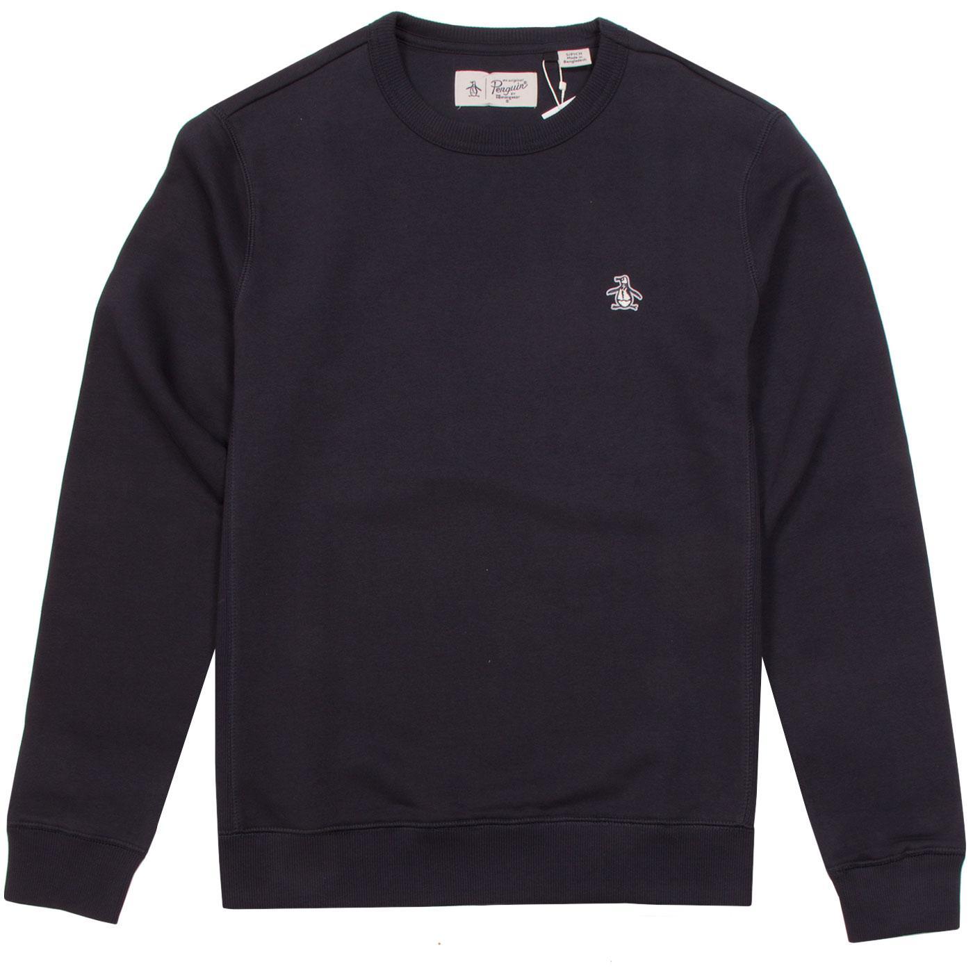 ORIGINAL PENGUIN Classic Crew Neck Sweatshirt DS
