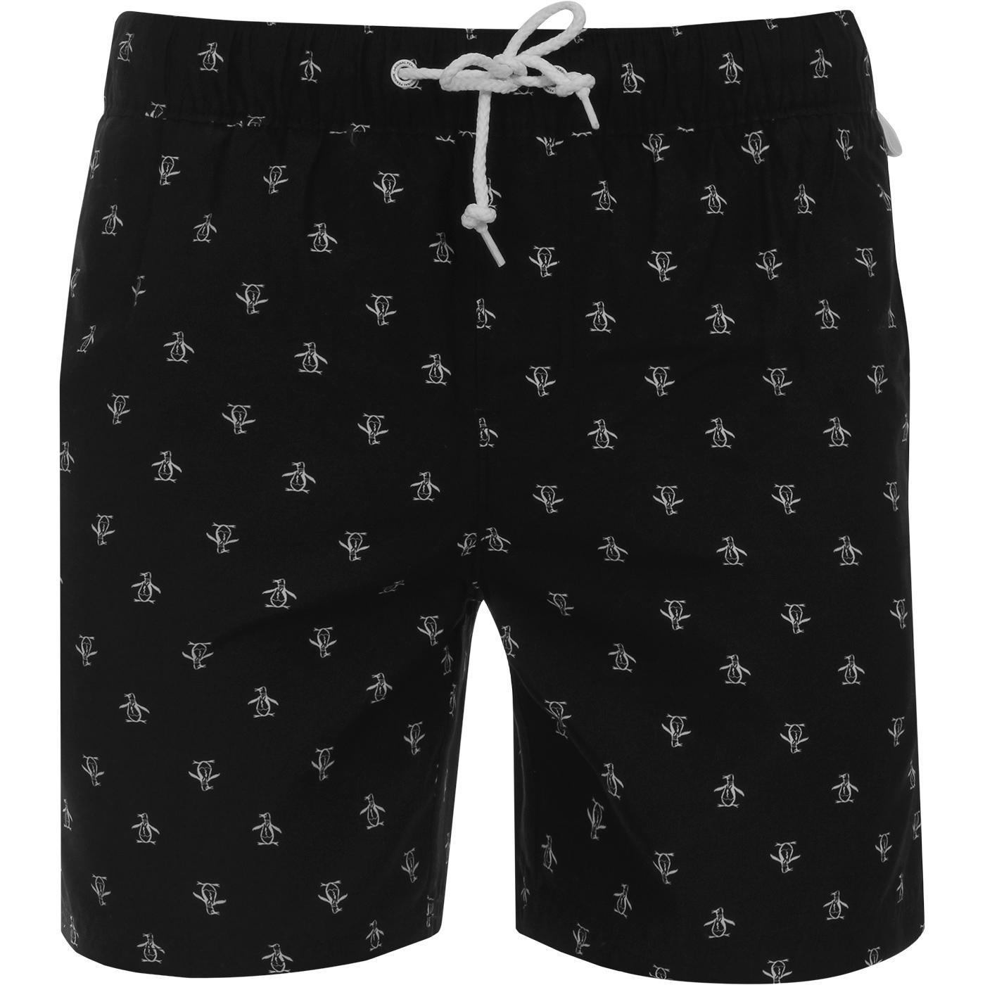 Re-Pete ORIGINAL PENGUIN Volley Swim Shorts (TB)