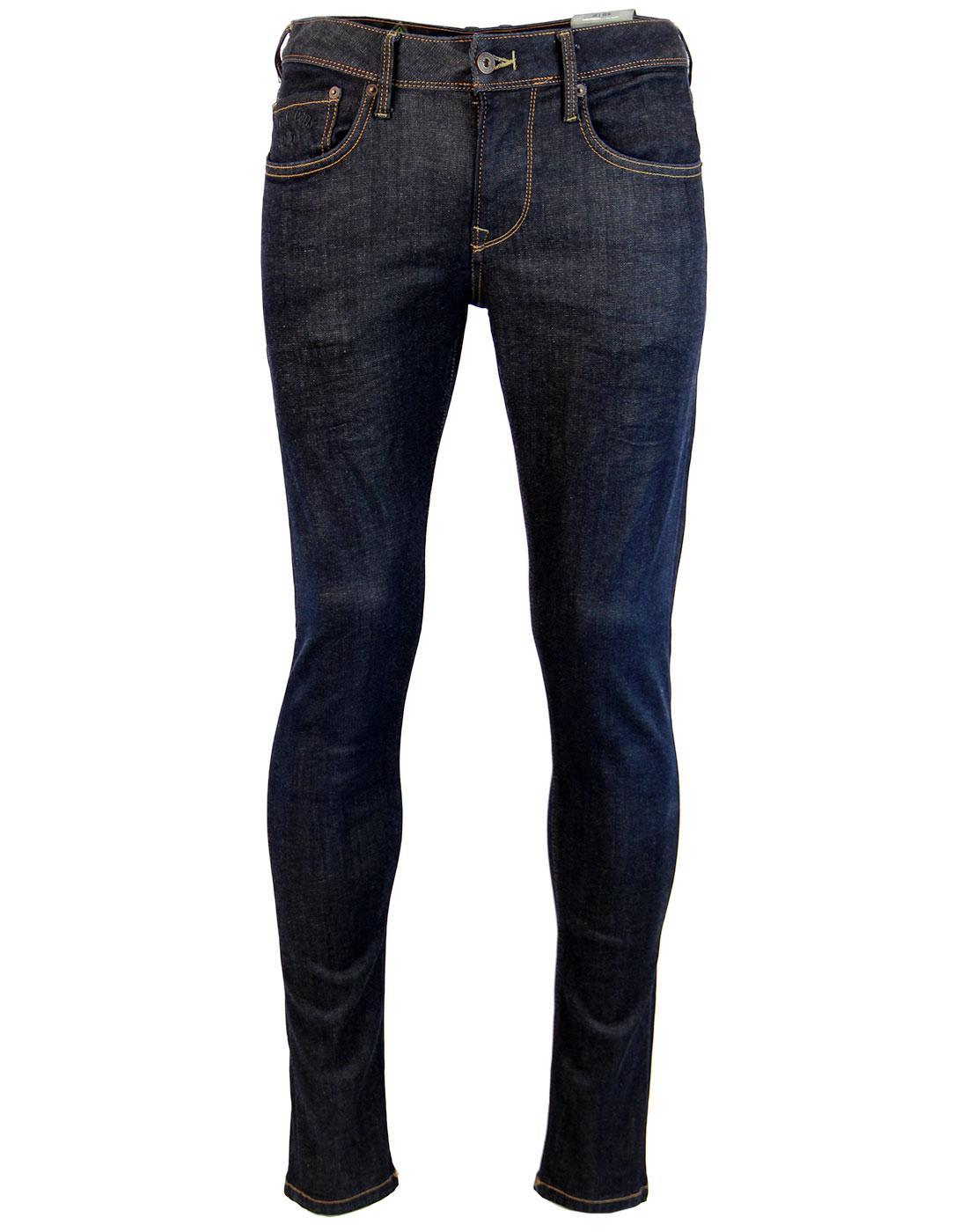 Finsbury PEPE JEANS Dark Blue Drainpipe Jeans Z06
