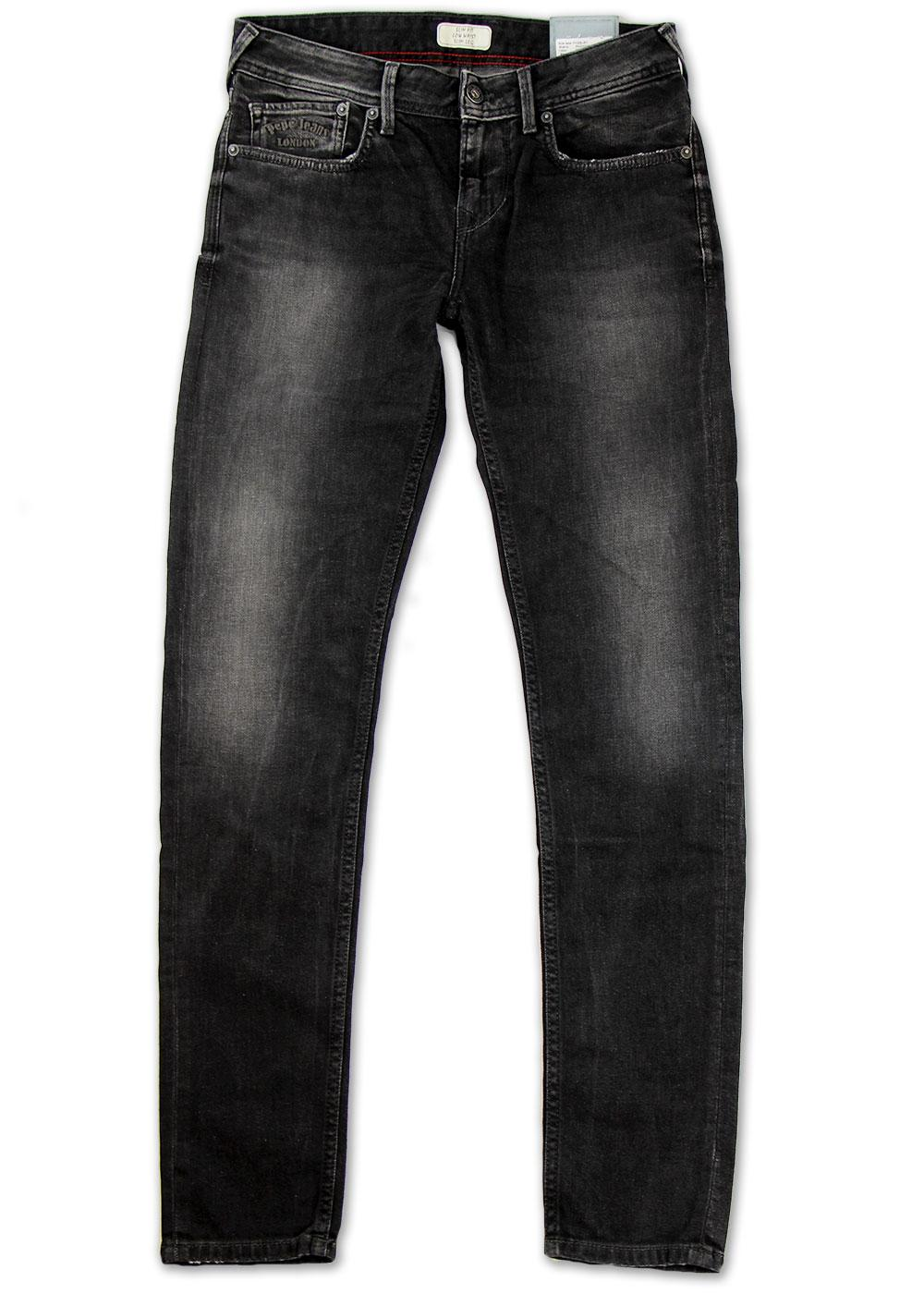 Finsbury PEPE Retro Indie Mod Drainpipe Jeans (B)
