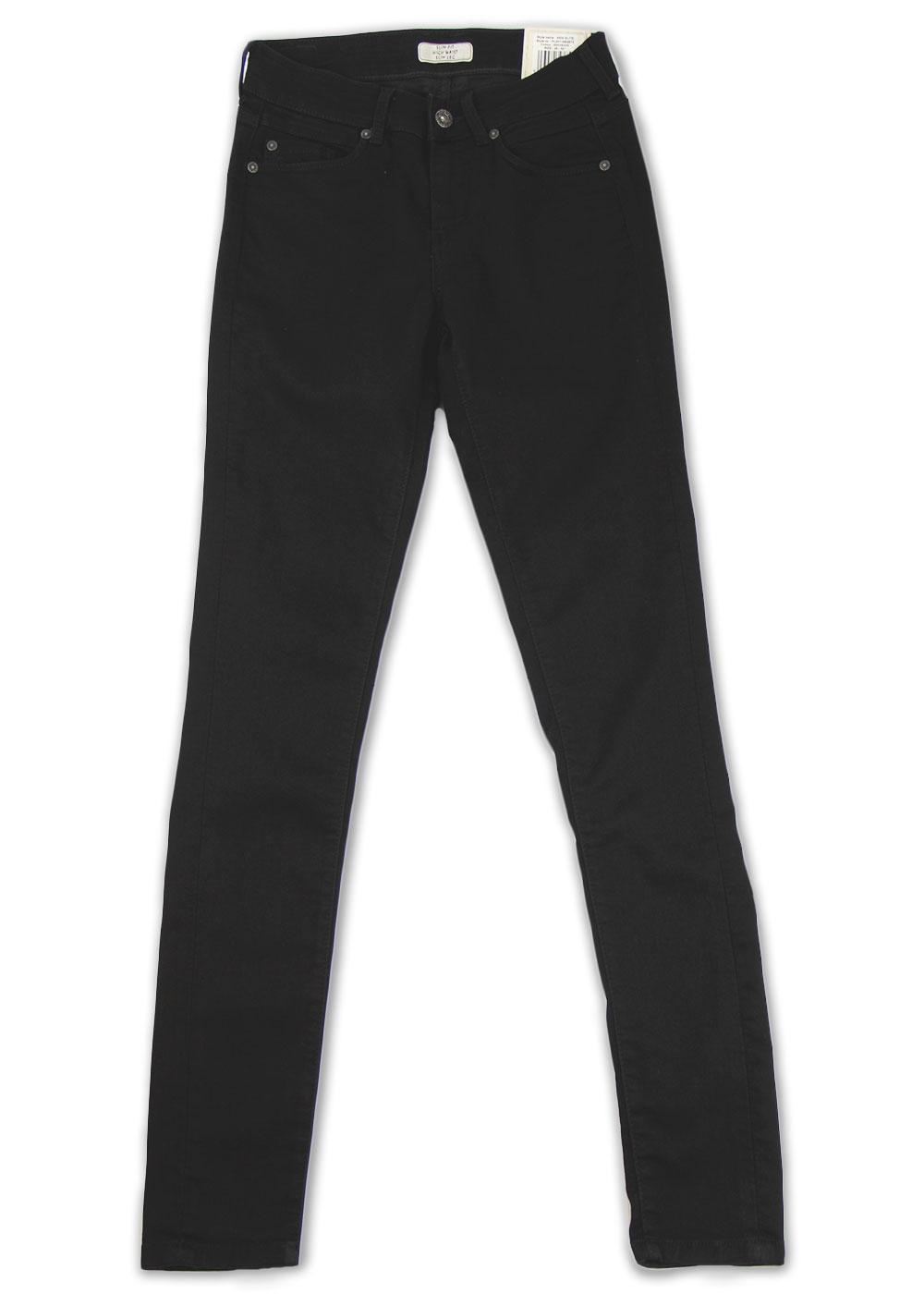 New Elite Pepe Retro Indie Black Skinny Jeans