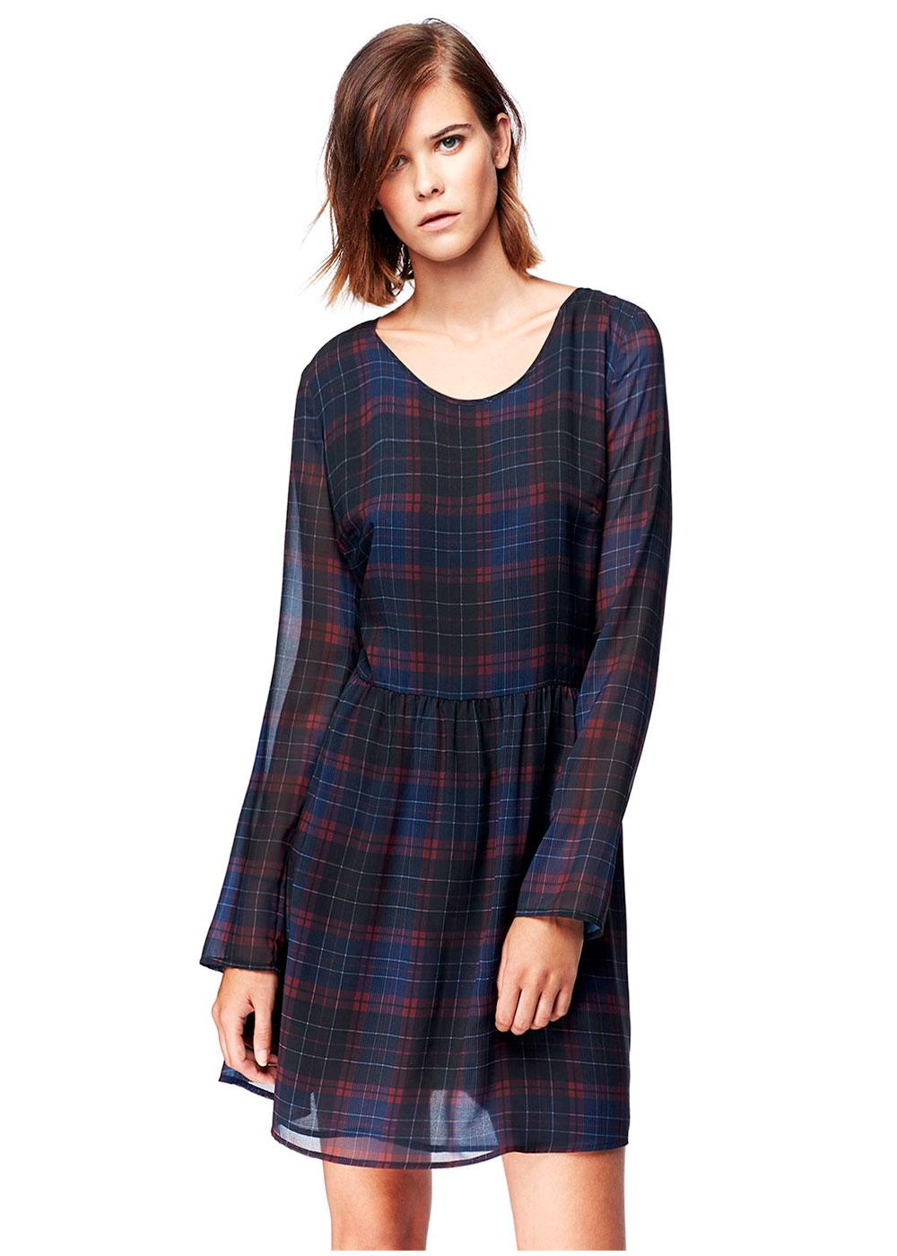 Bloom PEPE JEANS Retro 60s Tartan Check Dress