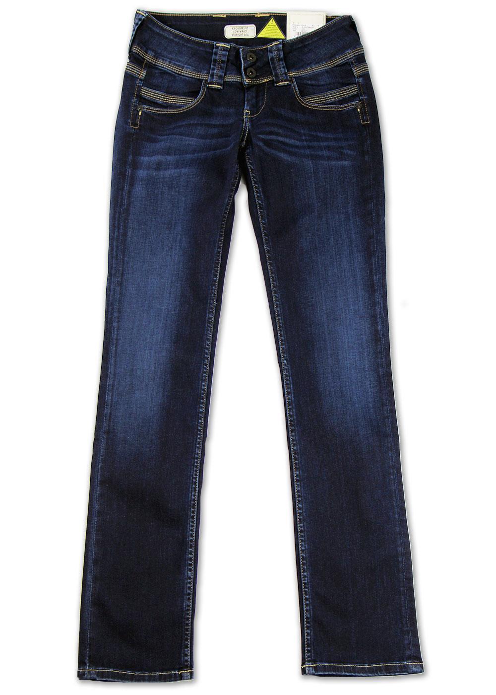 Venus Pepe Retro Indie Straight Leg Blue Jeans