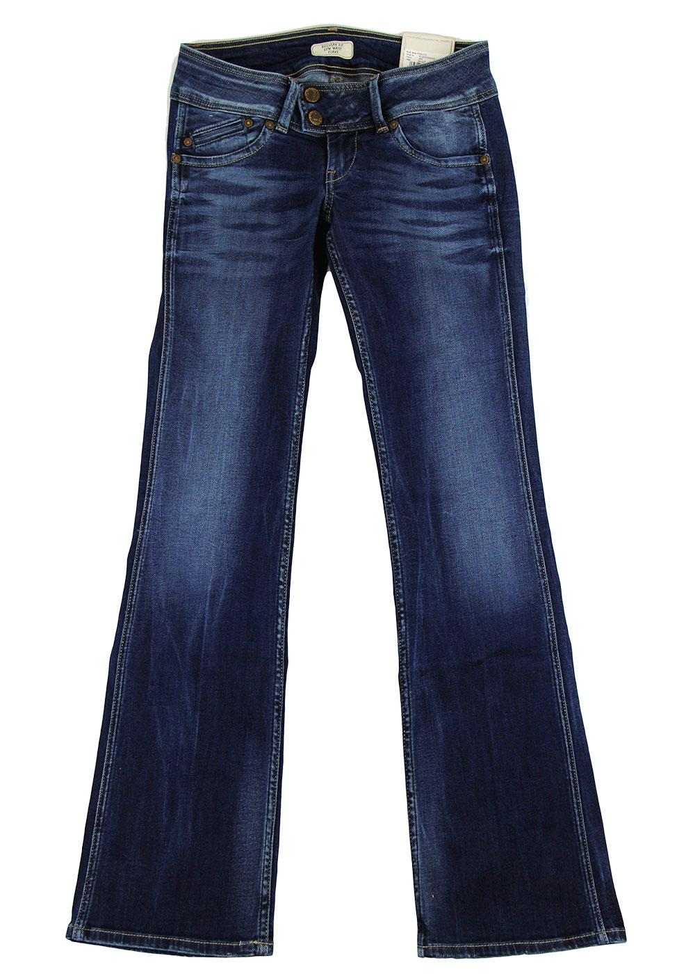 Pimlico S22 PEPE JEANS Retro 70s Bootcut Flares BW