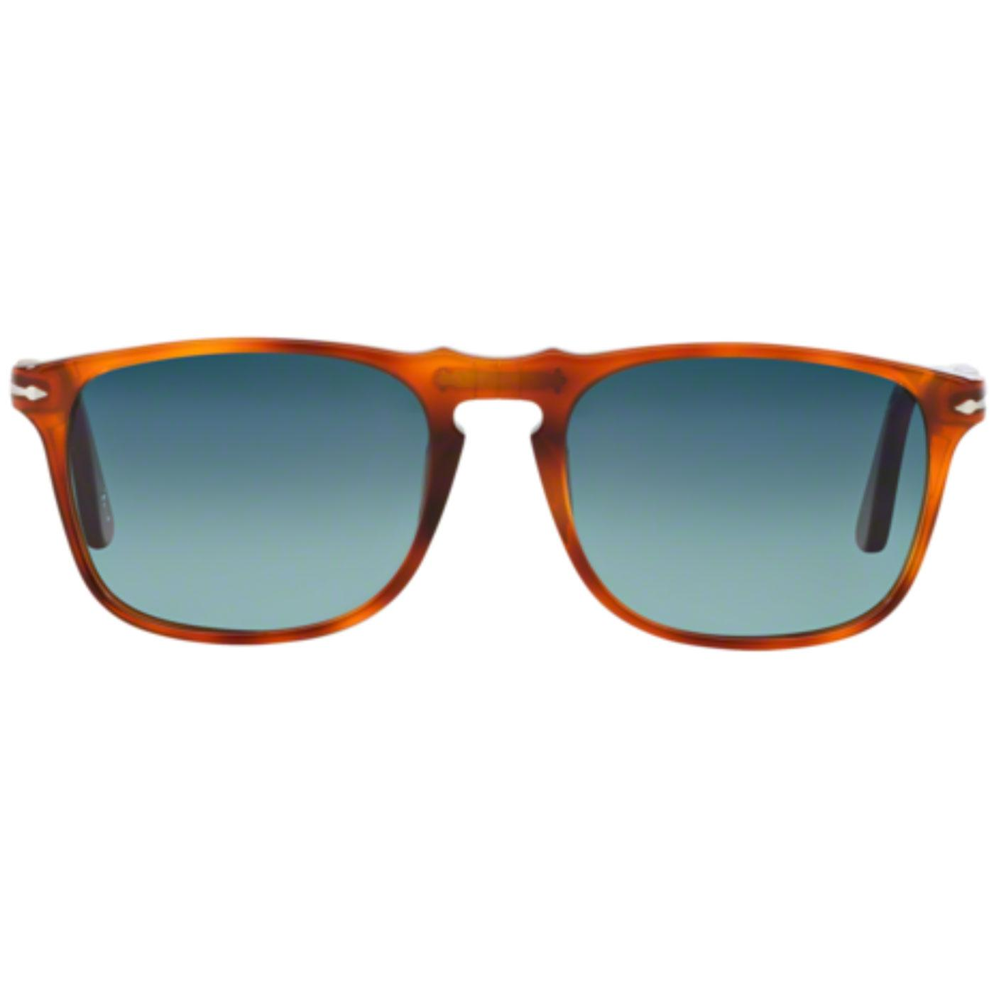 PERSOL Retro Polarised Terra Di Siena Sunglasses