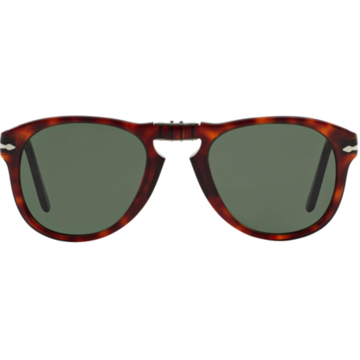 bba85ad8c3567 PERSOL Folding 714 Series Men s Mod Sunglasses in Havana