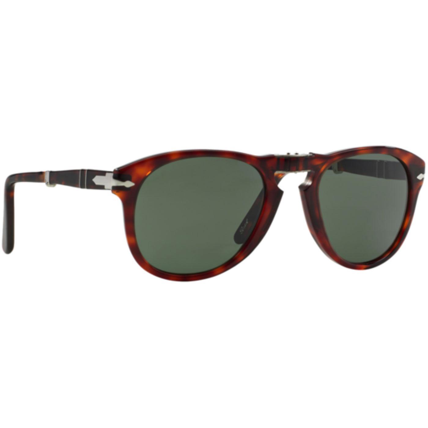 1bce73efec12 PERSOL Folding 714 Series Men's Mod Sunglasses in Havana