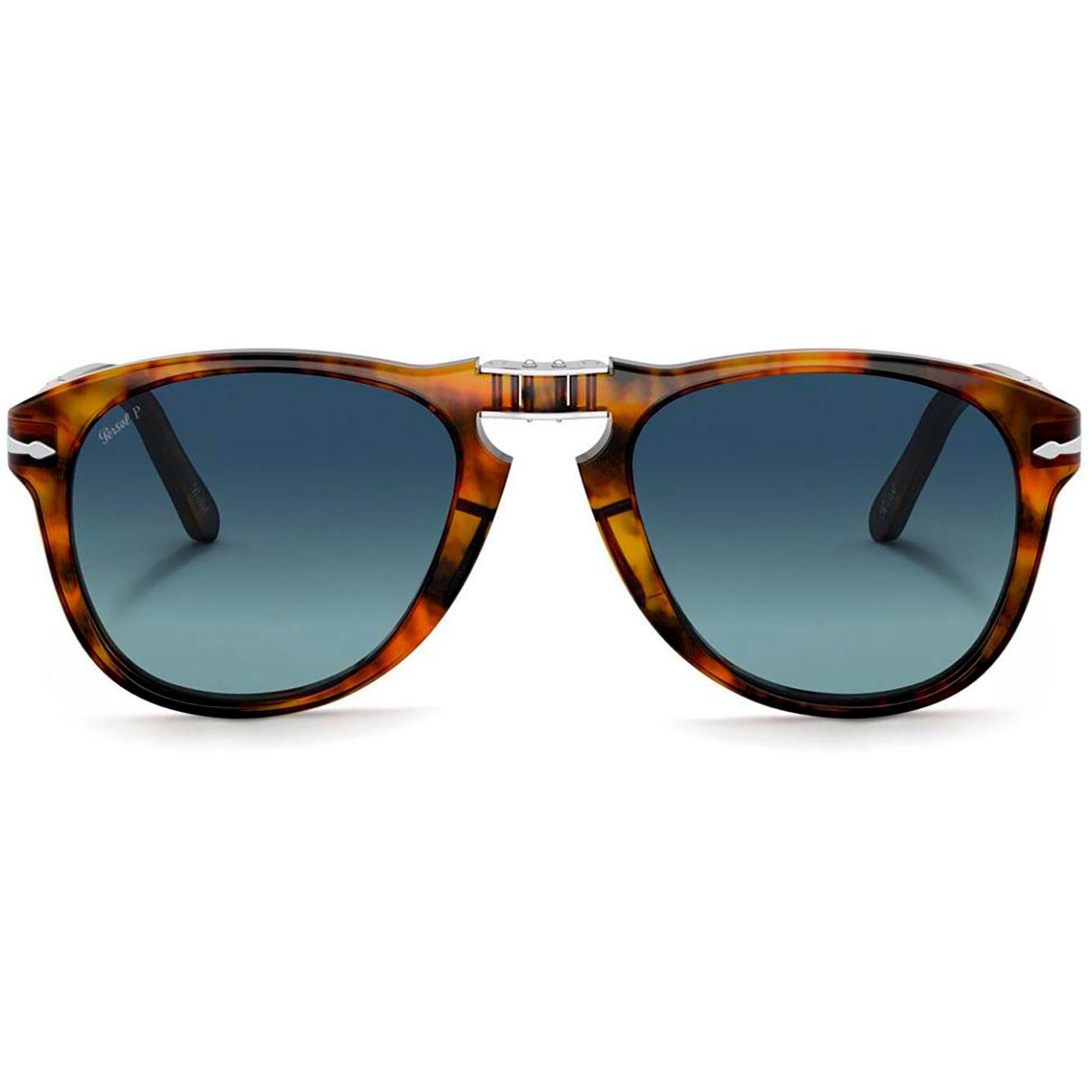 PERSOL Steve McQueen 714SM Sunglasses (Caffe)
