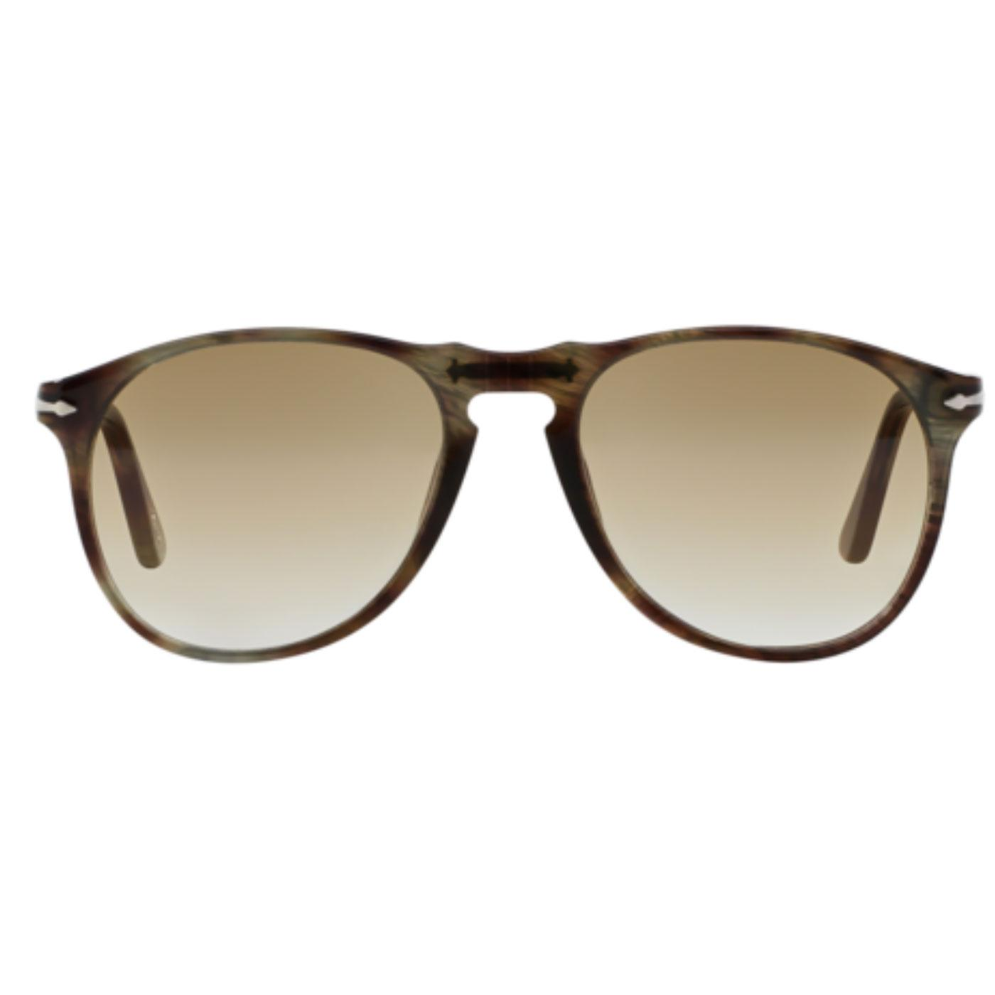649 Series PERSOL Sunglasses (Havana Brown Smoke)