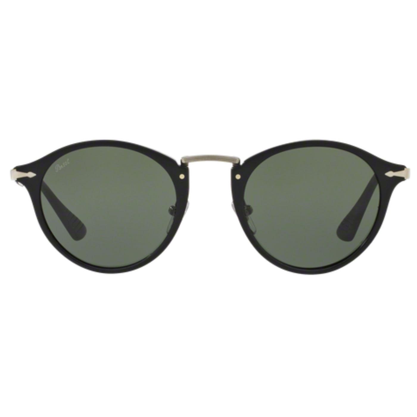 Calligrapher Edition PERSOL Round Sunglasses BLACK