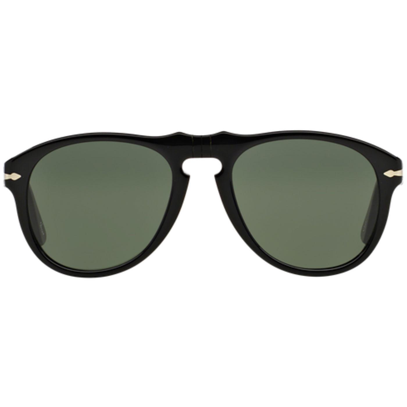 649 Series PERSOL Original Mod Sunglasses Black