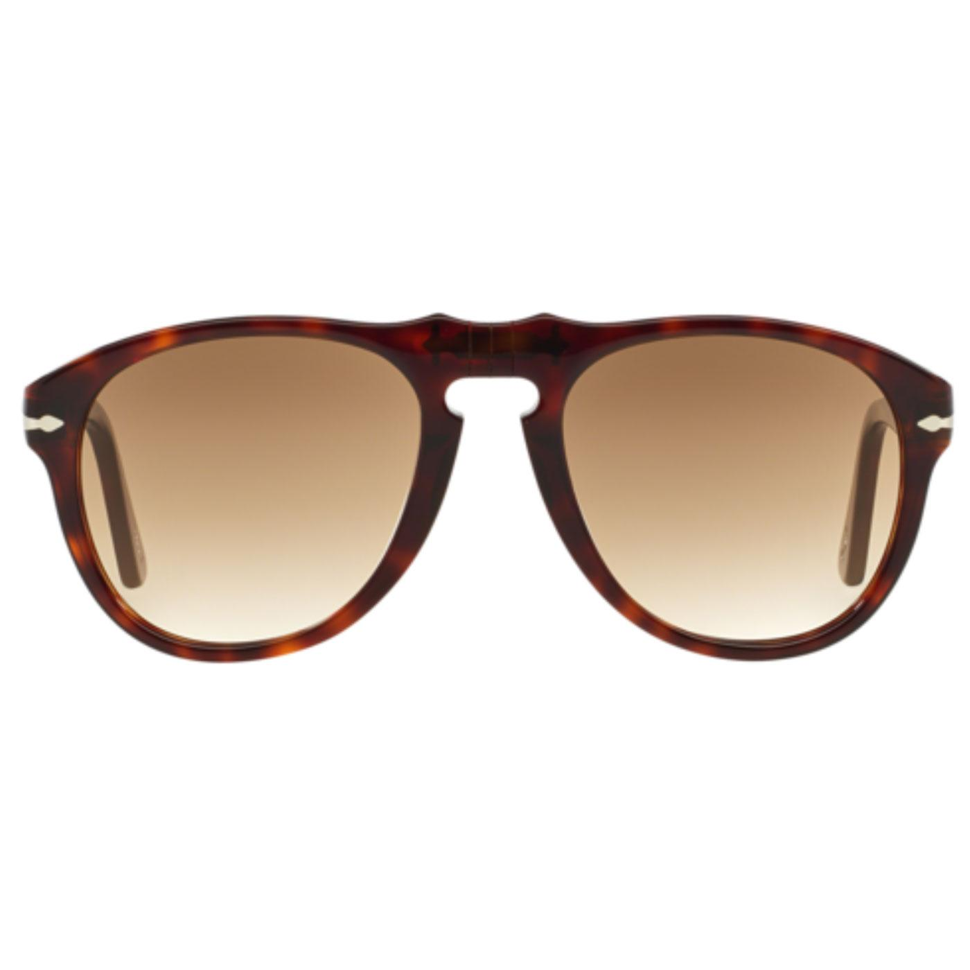 7347335c280bd PERSOL 649 Series Original Mens Mod Sunglasses in Havana