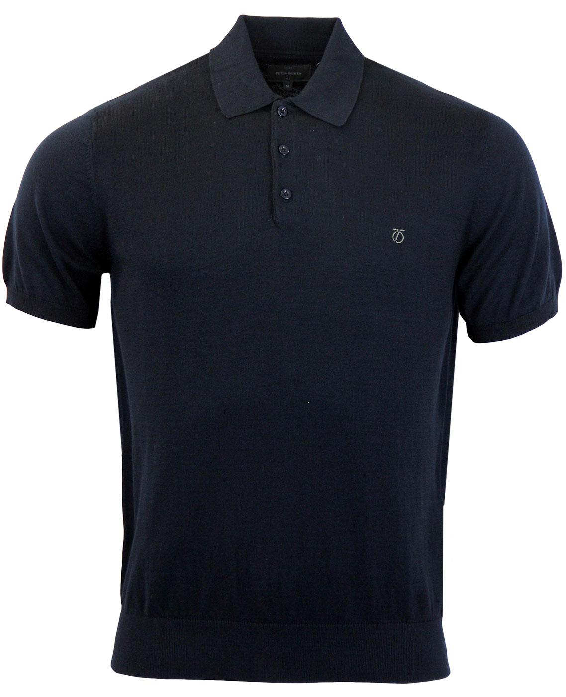 PETER WERTH Elements Brooksy Mod Cotton S/S Polo