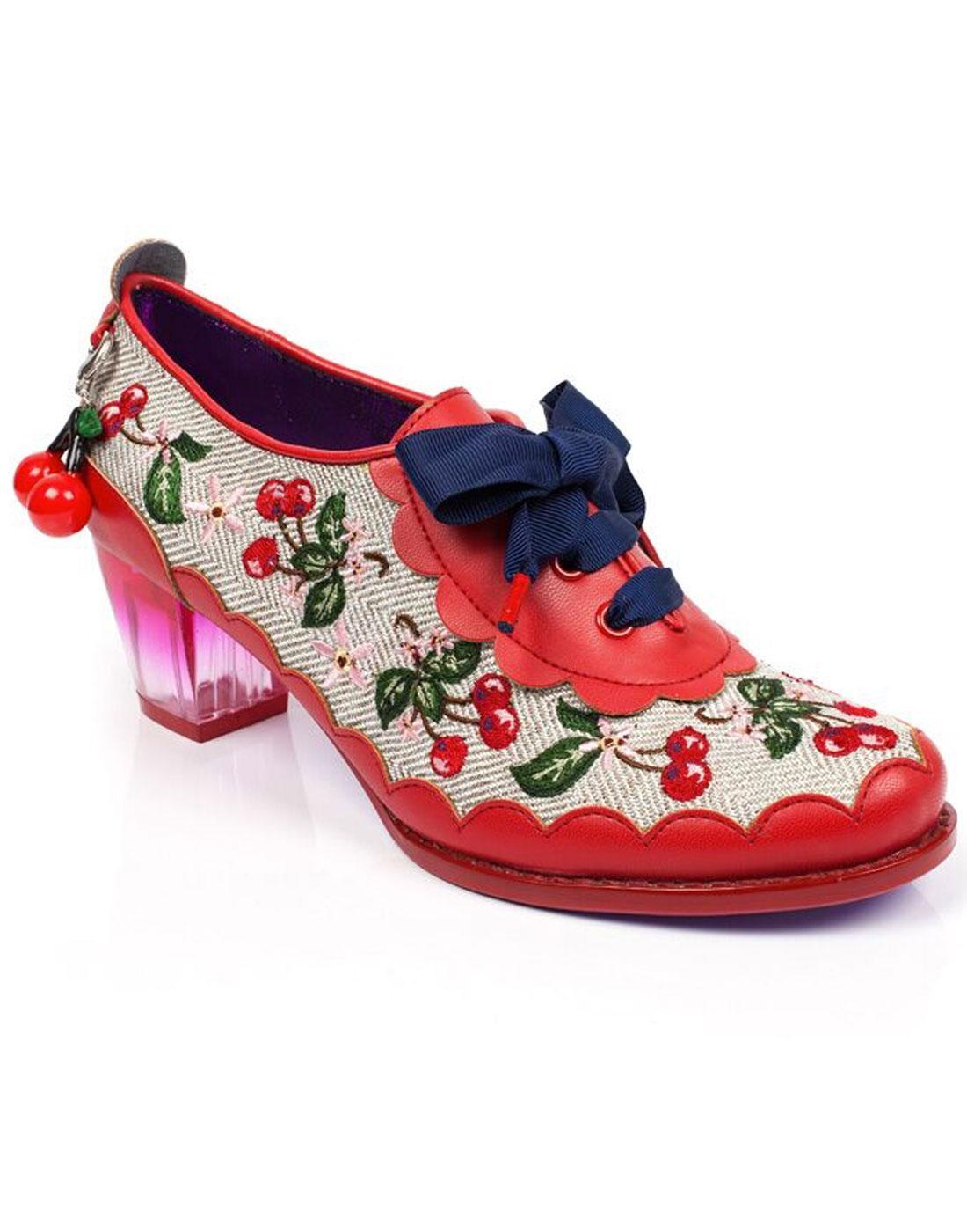 Cherry Fizz POETIC LICENCE Retro 1950s Heel Shoes
