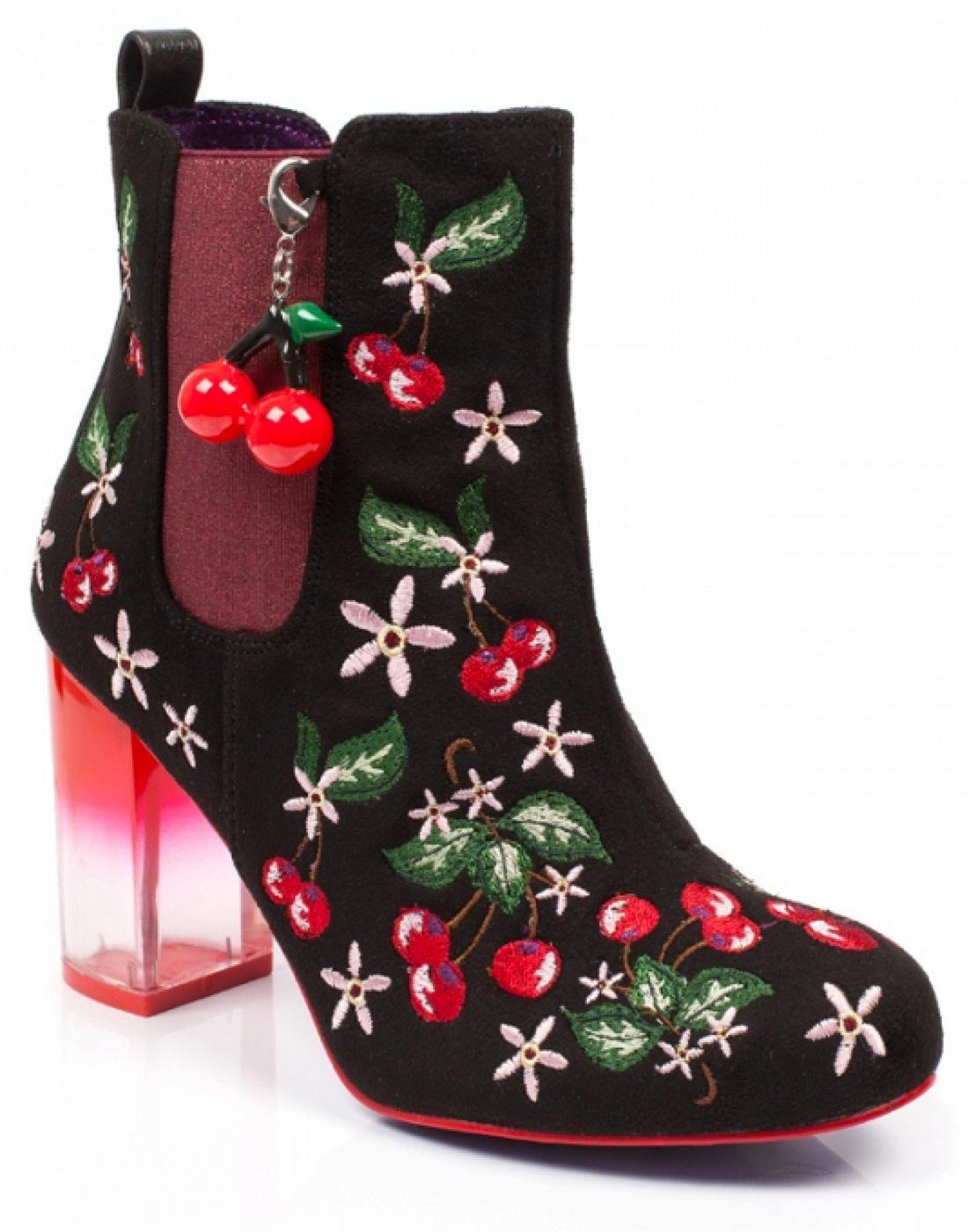 Cherry Nice POETIC LICENCE High Heel Boots - Black