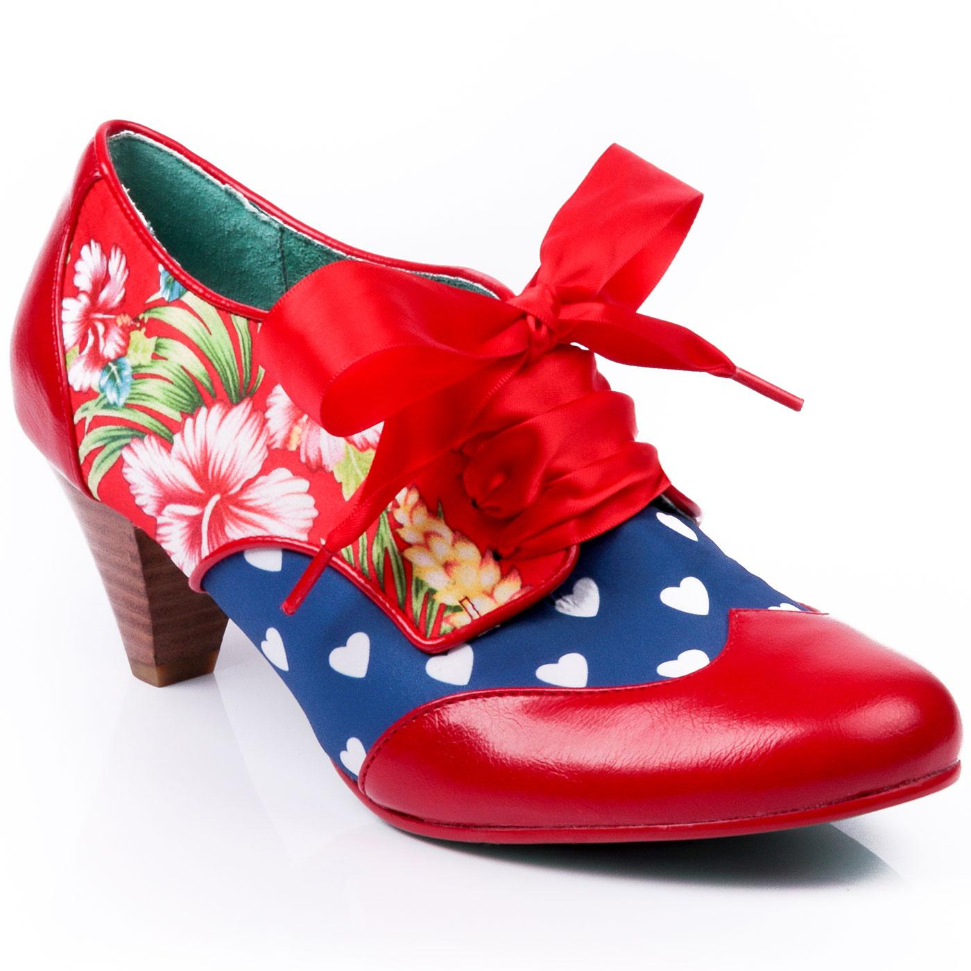 End Of Story POETIC LICENCE Vintage Floral Shoes R