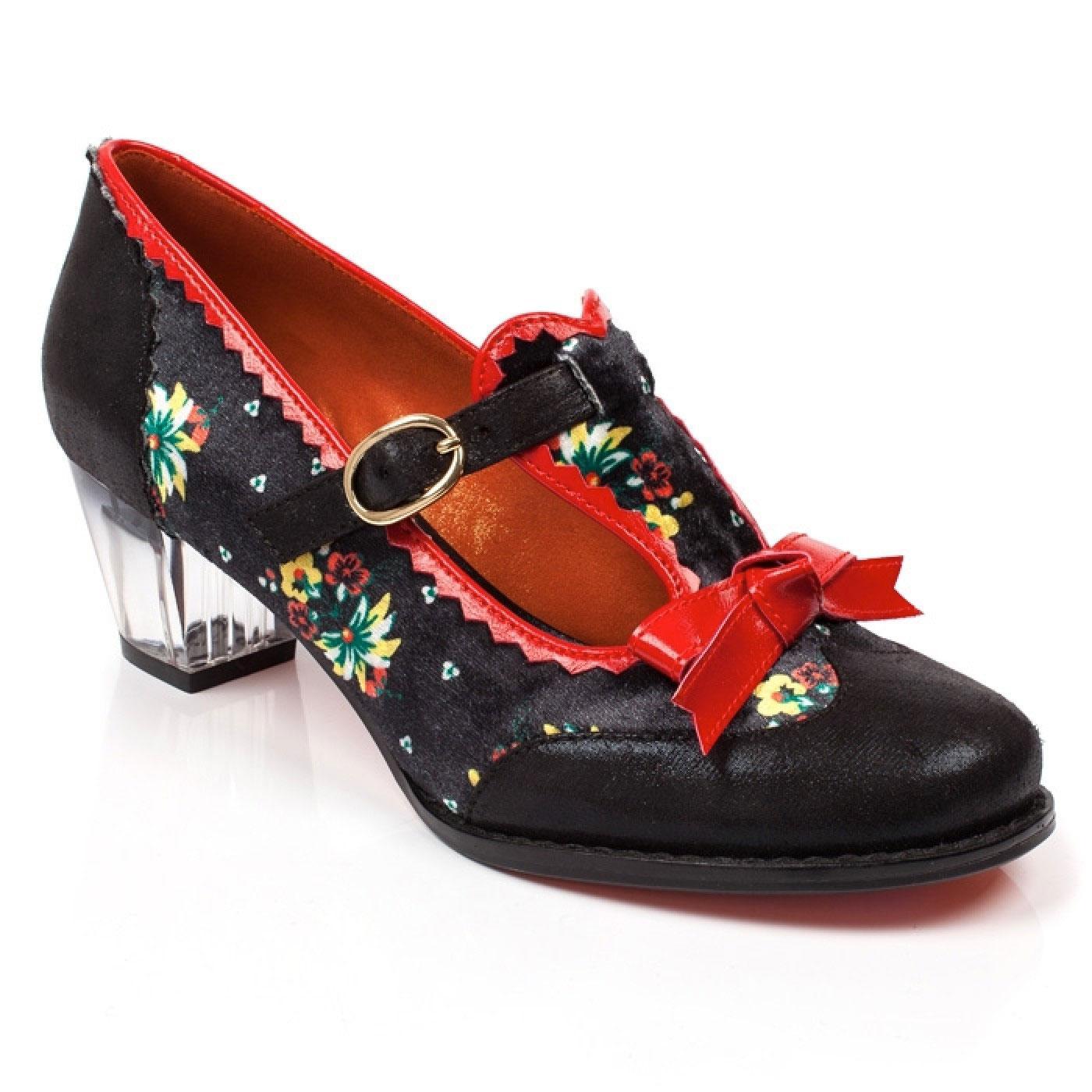 Floral Feeling POETIC LICENCE Vintage Heels Black