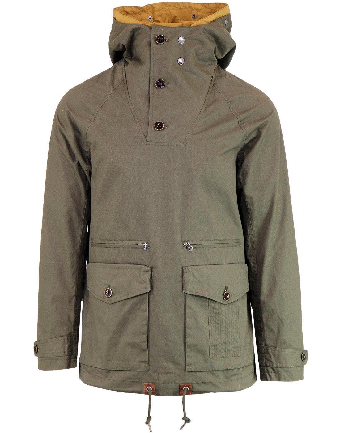 PRETTY GREEN Mens Retro Overhead Cagoule Jacket K
