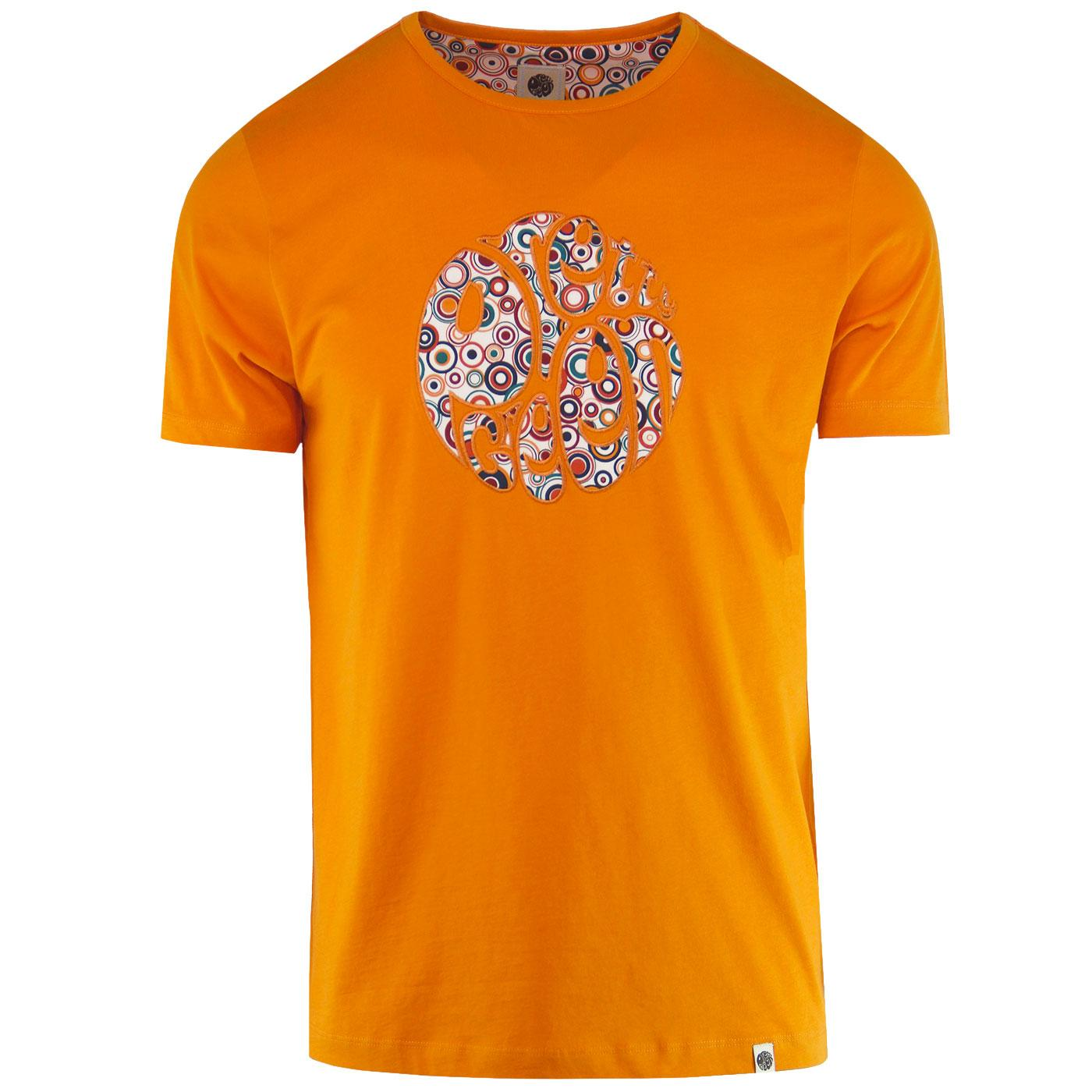 PRETTY GREEN Applique Target Logo Print Tee (O)