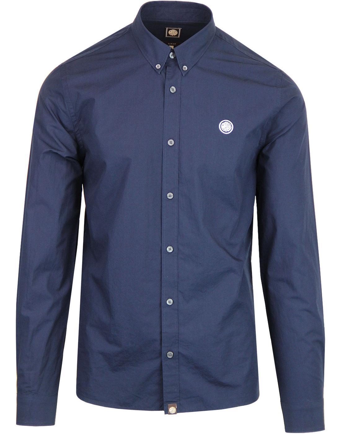 PRETTY GREEN Classic Mod Button Down Collar Shirt
