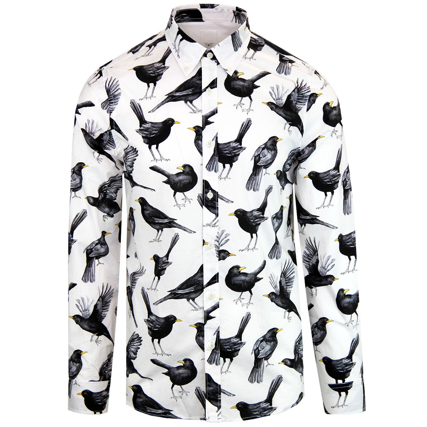 Pretty Green Beatles Blackbird Shirt