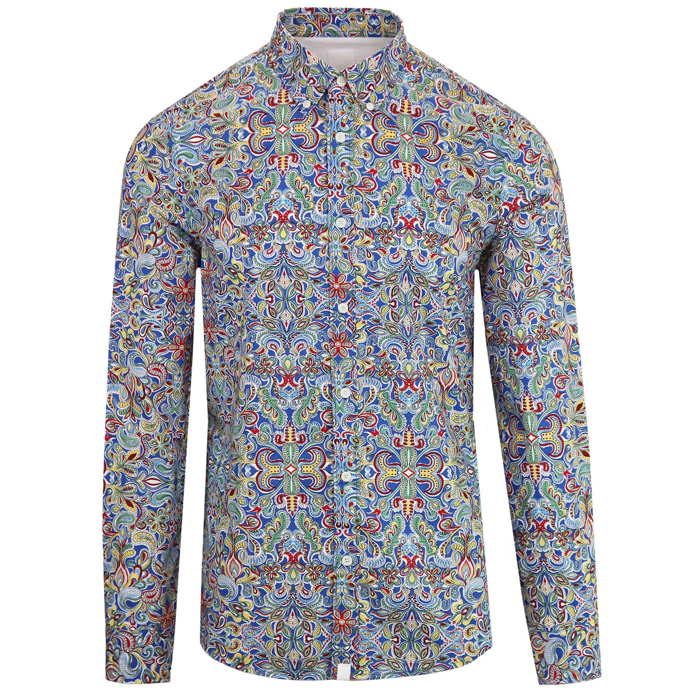 Pretty Green Beatles Paisley Shirt