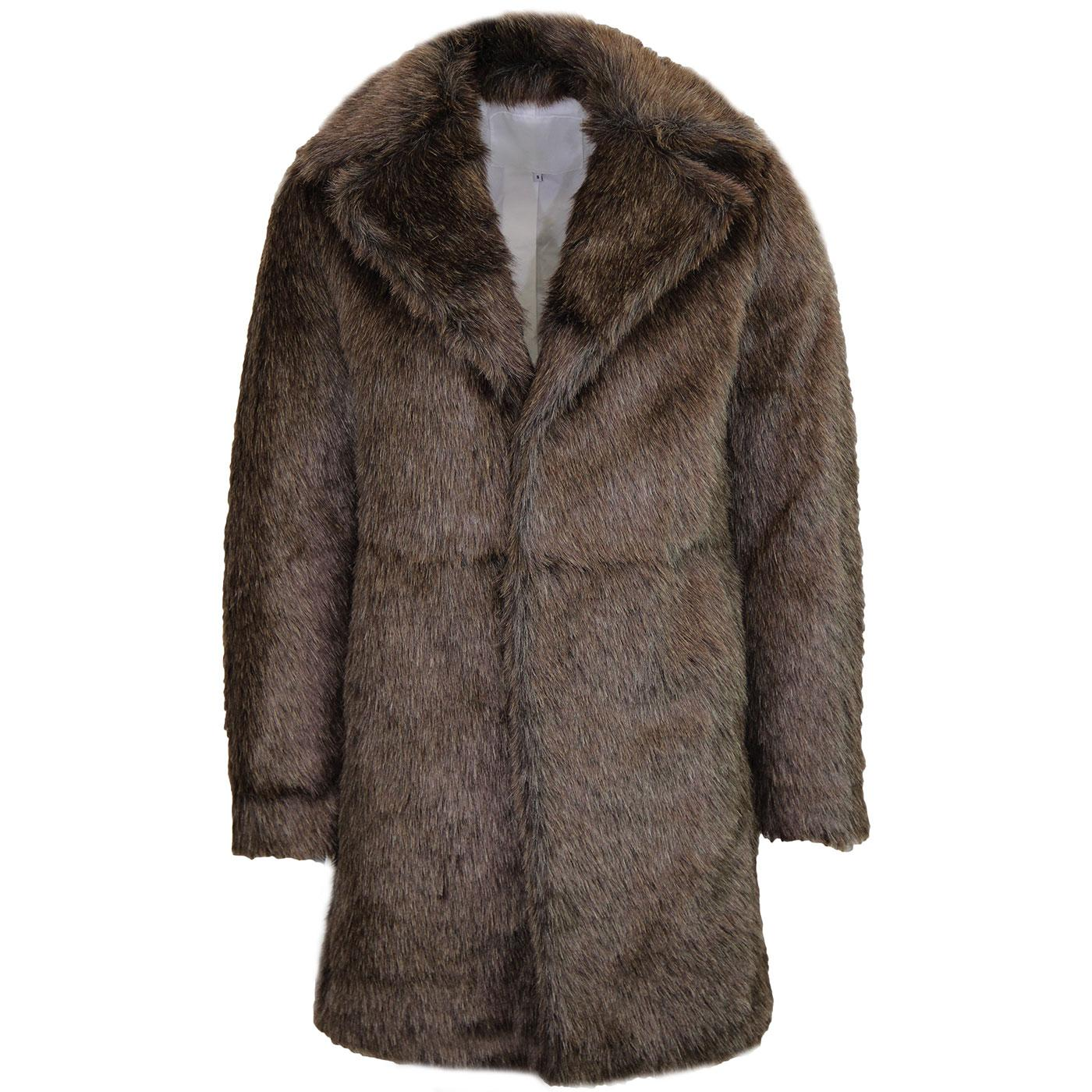 Pretty Green John Lennon Fur Coat