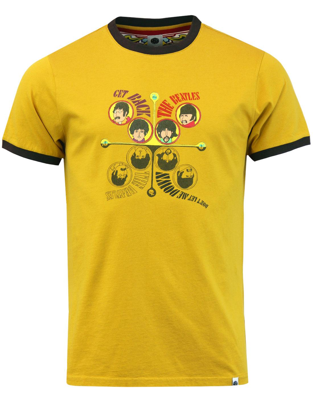 finest selection 0e75a ad101 PRETTY GREEN x THE BEATLES Get Back Retro T-Shirt