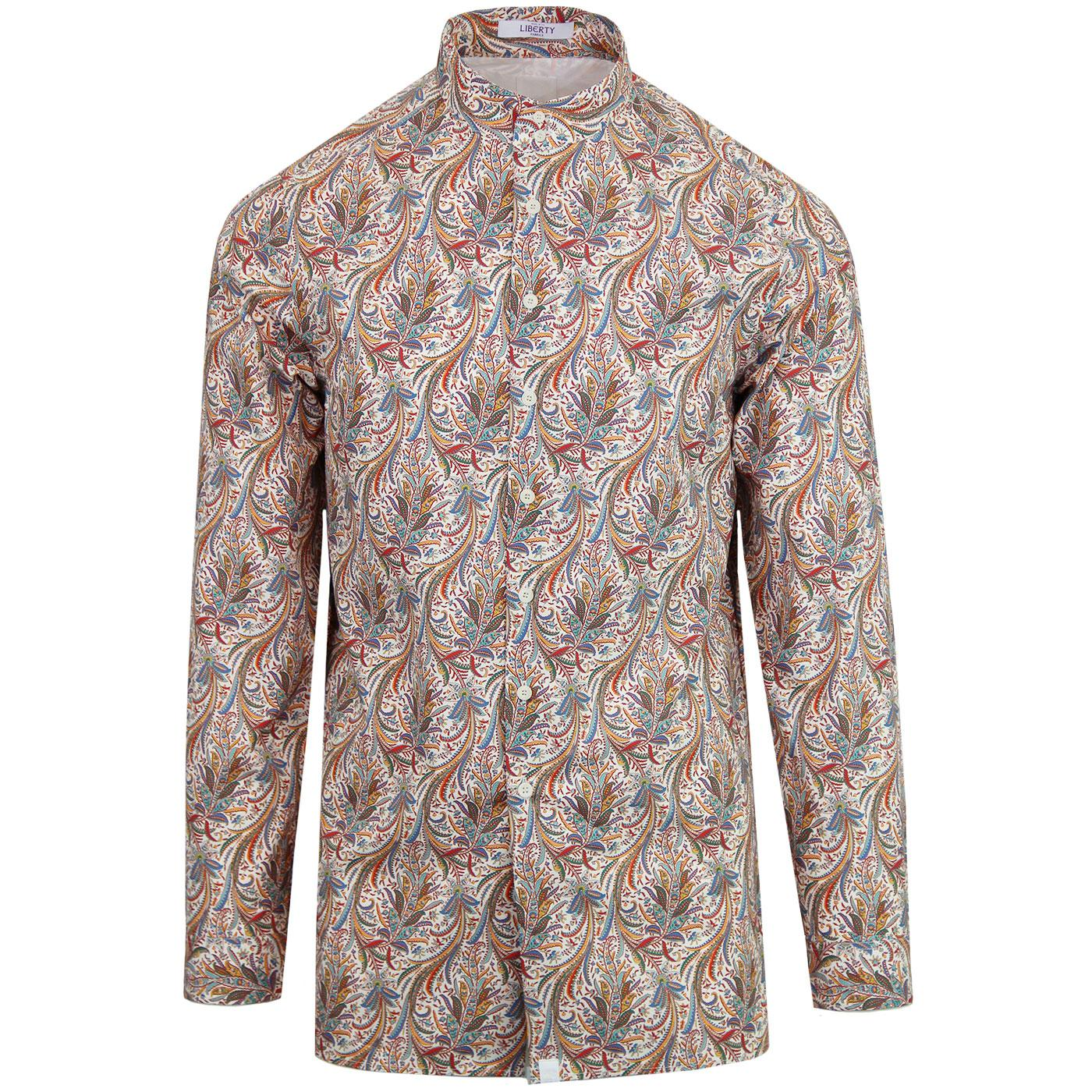 PRETTY GREEN x THE BEATLES Liberty Print Shirt