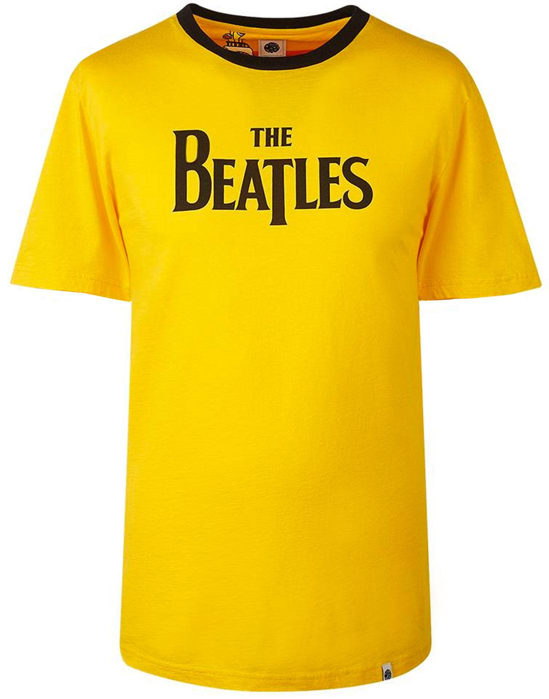 PRETTY GREEN x THE BEATLES Retro Logo T-Shirt (Y)