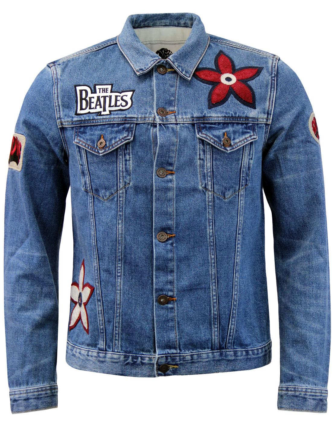 PRETTY GREEN x BEATLES Lonely Hearts Denim Jacket