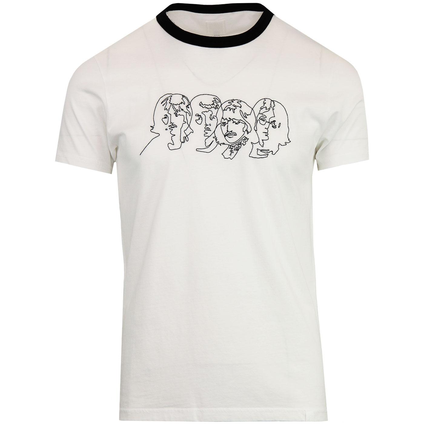 Savoy PRETTY GREEN x THE BEATLES Chain Stitch Tee