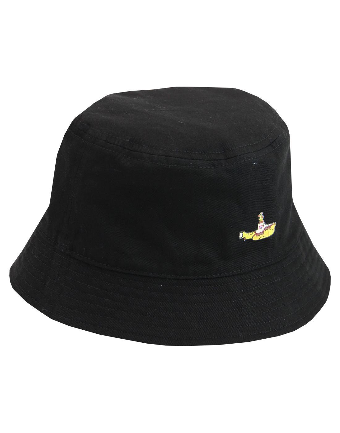 ... buy popular d8f7f 2e1e7 PRETTY GREEN x THE BEATLES Sea Of Holes Bucket  Hat ... cb0275d17c5