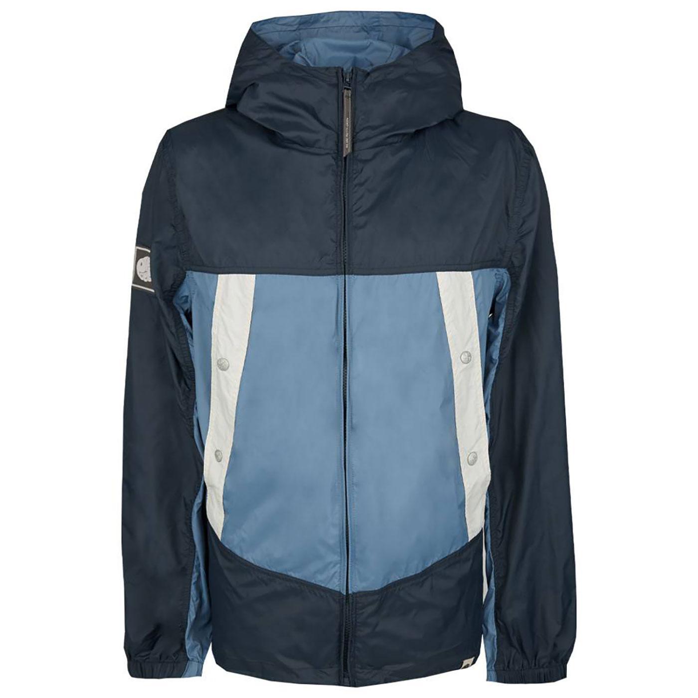 PRETTY GREEN Retro Colour Block Hooded Jacket B