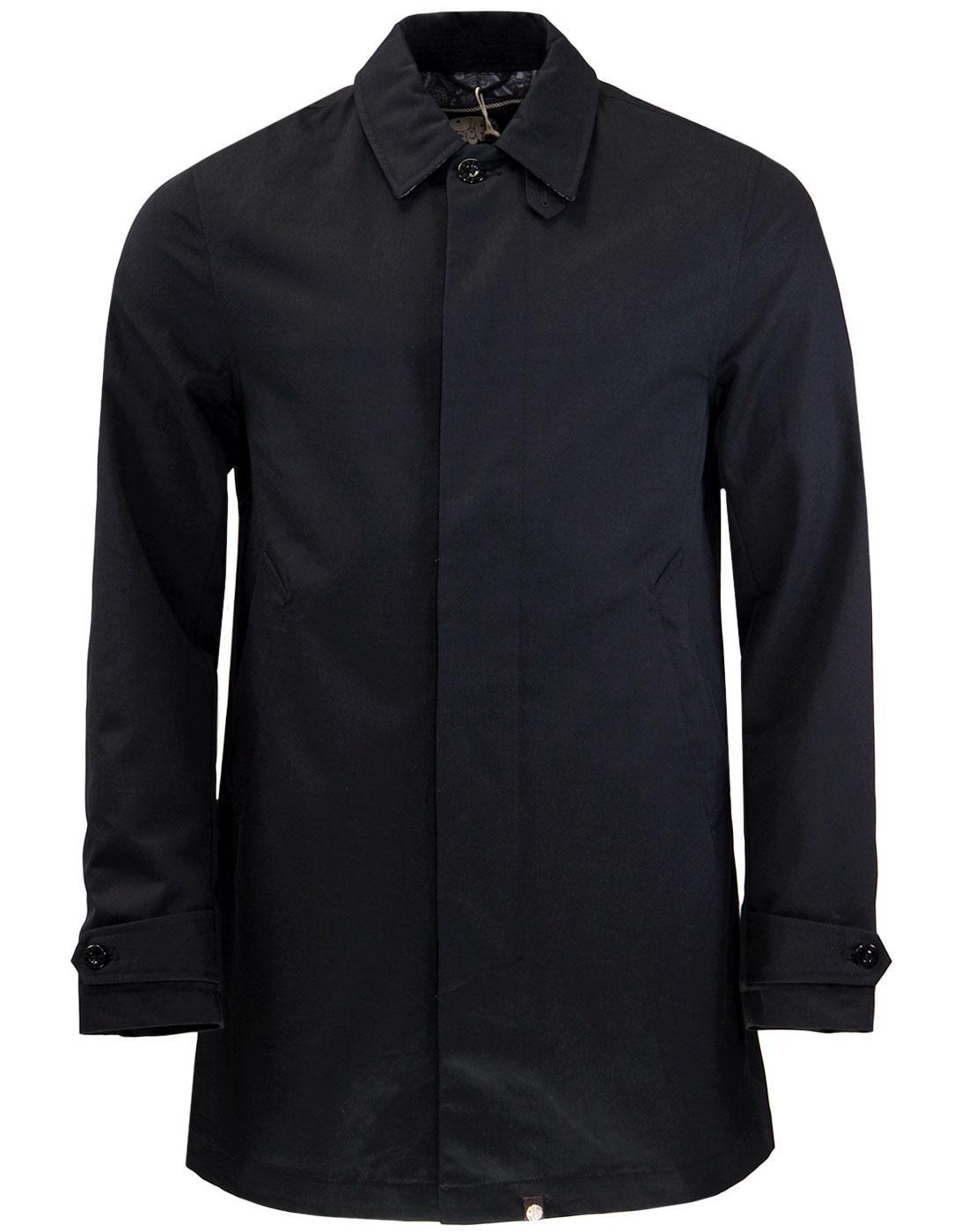 Glendon PRETTY GREEN Mod Button Up Mac Jacket (B)