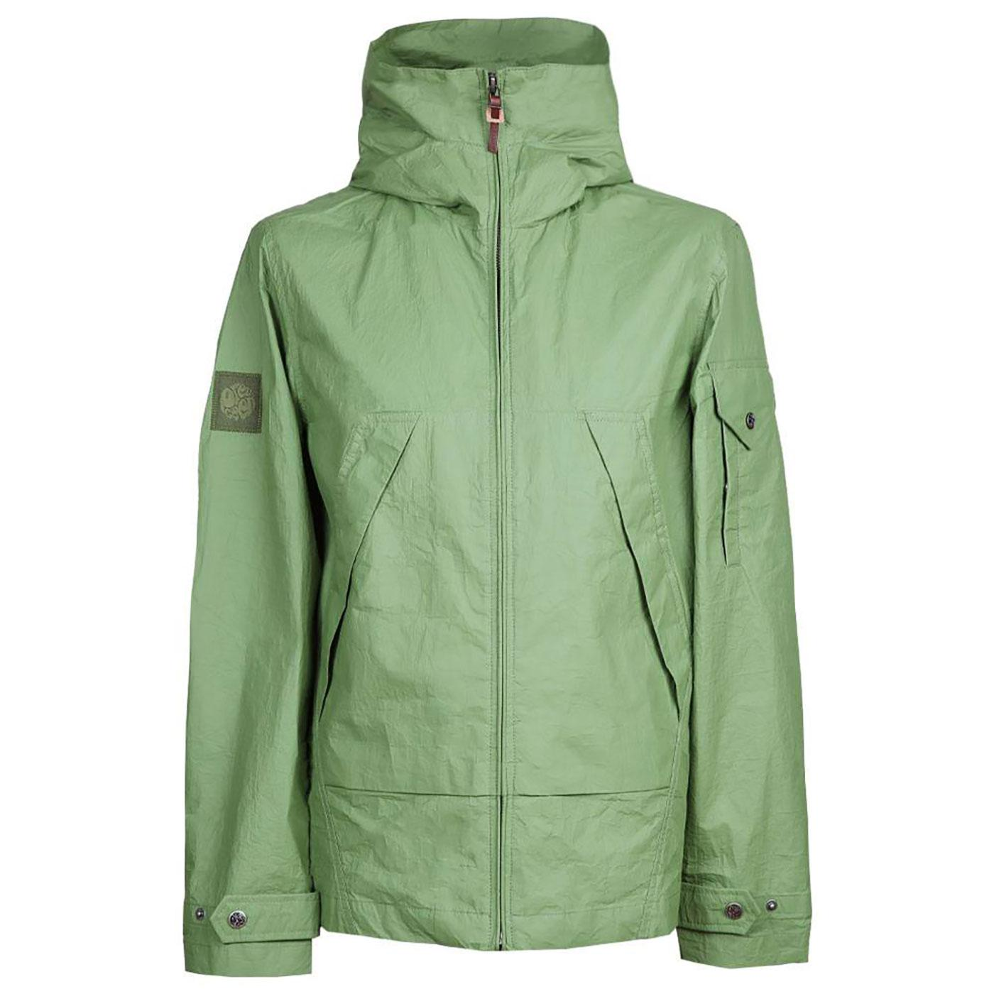 PRETTY GREEN Retro Mod Zip Up Hooded Jacket G