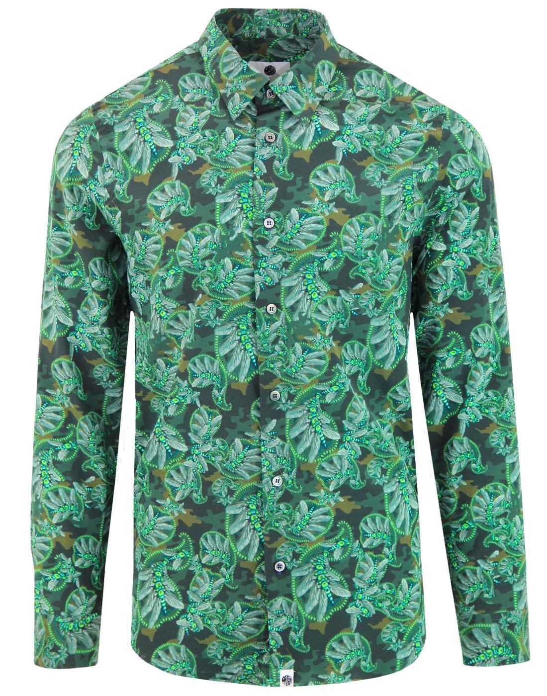 Toria PRETTY GREEN X KATIE EARY Mod Paisley Shirt