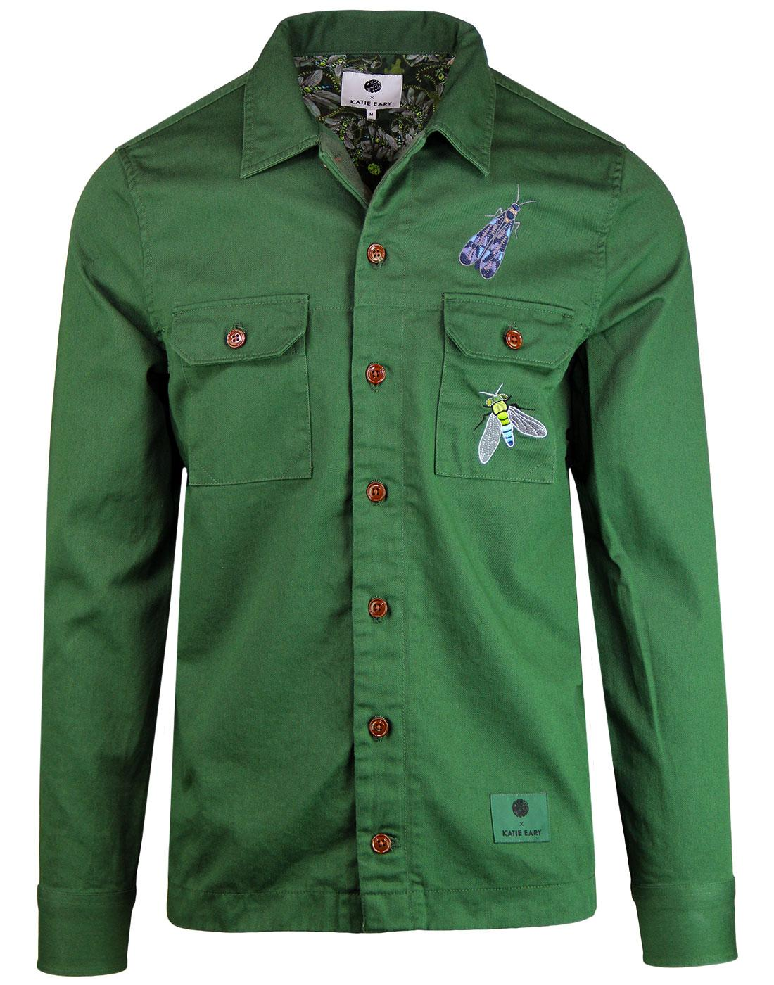 Toria PRETTY GREEN X KATIE EARY 60s Military Shirt